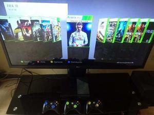 Xbox 360 E  Gb 3 Controles 40 Juegos Vendo O Cambio