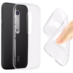 Forro Tpu Motorola Moto G3 Transparente
