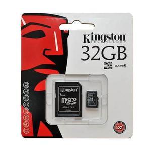 Memoria Micro Sd 32 Gb Kingston Clase 10 En Blister Chara