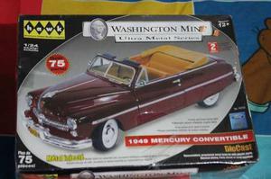 Carro De Coleccion Whasington Mint Ultra Metal Serie Mercury