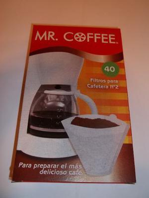 Filtros Para Cafetera N°2 Mr. Coffe