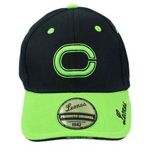 Gorra De Los Leones Del Caracas Original Verde Negra