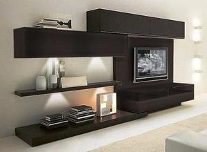 Mueble Organizador Modular Panel Tv