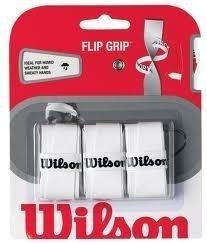 3 Grip Para Raquetas De Tenis Pro Overgrip Flip Grip Blanco