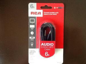 Cable Auiliar De Audio 3.5mm A 3.5mm Marca Rca