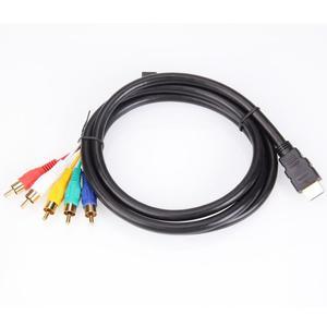 Cable Hdmi A 5 Rca Componente Adaptador Convertidor