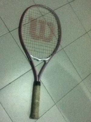 Raqueta De Tenis Marca Wilson Con Bolso Y Pelota