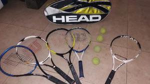 Raqueta Tenis Head Wilson Prince Y Bolso Buen Estado