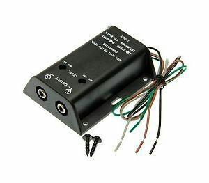 Adaptador Complemento Amplificador Audio Carro Subwoofer Rca