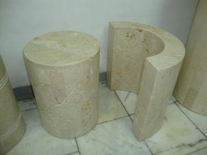 Vidrio con base de marmol para mesa de recibo posot class for Bases para mesas de centro