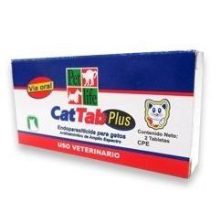 Cat Tab Desparasitante Para Gatos