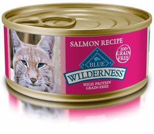 Comida Para Gato Salmon En Lata Marca Blue Wilderness