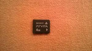Ps Vita Memoria De 4gb