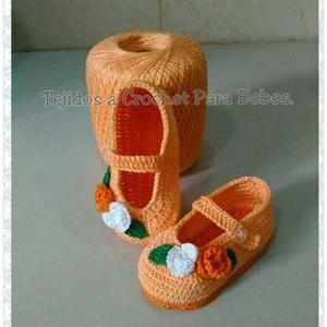 Zapatos Tejidos Bebé