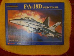 Avión Armable F/a-18d Wild Weasel