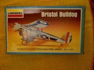 Avión Armable Lindberg Bristol Bulldog