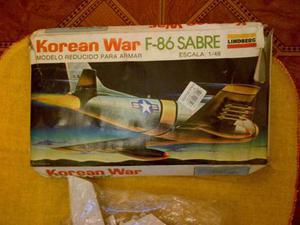 Avión Armable Lindberg F-86 Sabre
