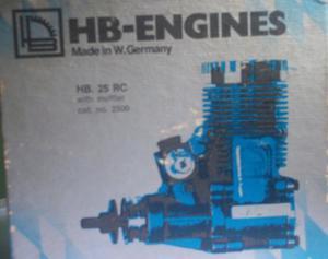 Cambio O Vendo Motor De Coleccion Aeromodelismo Hb 25 Rc
