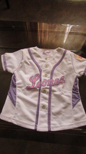 Camisa D Los Leones Del Caracas Para Niña Talla 2 Original