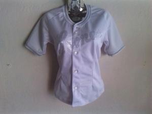 Camisa Franela Original Leones Del Caracas Talla S _m
