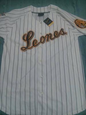 Camisa Leones Del Caracas Original - Nueva