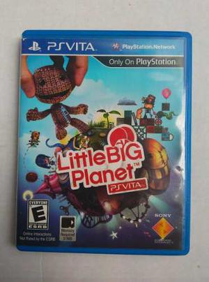 Juego Ps Vita Little Big Planet