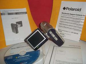 Video Camara Polaroid Usada En Su Caja