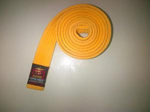 Cinturon Amarillo De Karate