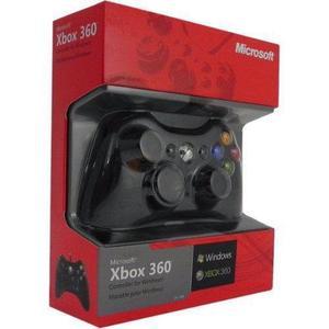 Microsoft Control Original Xbox 360 Y Pc Nuevos + Juego Pc