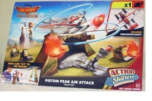 Pista Disney Planes Piston Peak Air Attack de Mattel