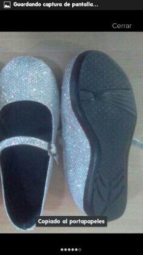 Zapatillas Escarchadas Niñas Mayor Y Detal! De La 27 A La