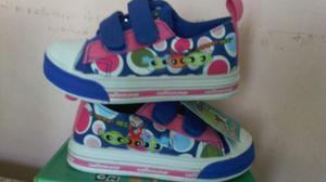 Zapatos Deportivos Sin Luces Niñas Cartoon Network 23 Y 25