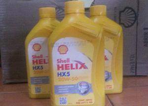 Aceite Shell Helix 15w40 Mineral Sellados.