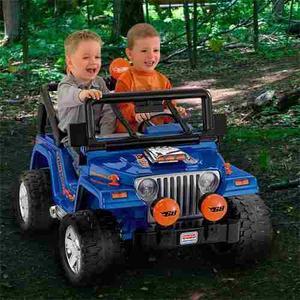 Carro Jeep Wragler Power Wheels Hot Wheels Fisher Price