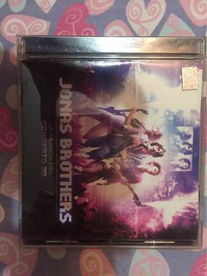 Cd Del Concierto En Vivo Jonas Brothers