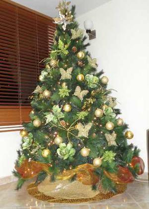 Combo De Adornos Para Arbolito De Navidad (sin Arbol)