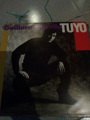 Disco De Acetato De Guillermo Davila