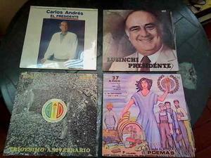 Discos Lp De Coleccion Accion Democratica