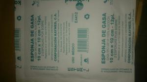 Gasa Esteril 10x10