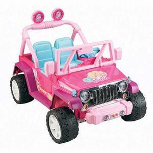 Jeep Power Wheels Barbie Fisher Price Navidad