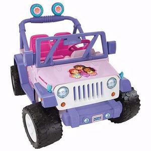 Jeep Wrangler Power Wheels Dora La Exploradora Fisher Price