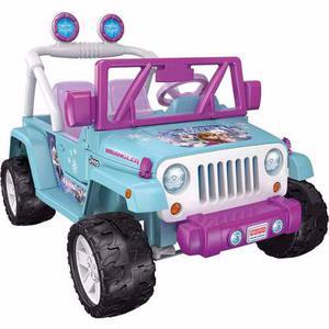 Jeep Wrangler Power Wheels Frozen Fisher Price Navidad