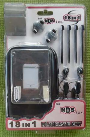 Kit De Accesorios 18 En 1 Para Nintendo Dsi Xl Nuevo.
