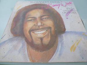 Lp / Barry White /16 Grandes Exitos / Vinyl / Acetato /
