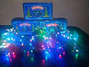 Luces De Navidad Led Multicolores 80 Luces