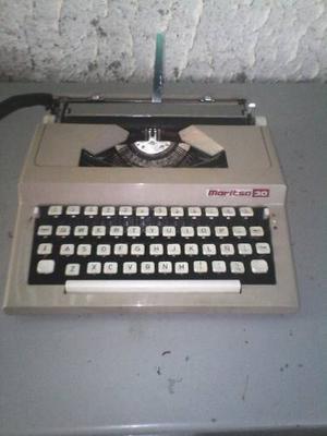 Maquina De Escribir Maritza 30 Manual - ¡oferta ¡¡¡¡