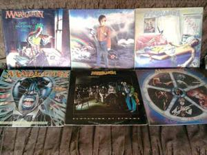 Marillion Coleccion Completa En Lp Rock Heavymetal,progresiv
