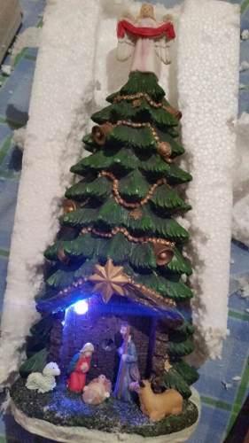 Mini Árbol De Navidad Para Mesa De Centro Con Iluminación.