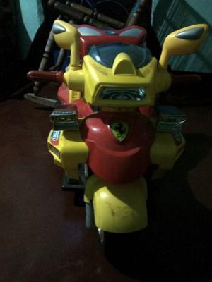 Moto 3 Ruedas De Bateria Para Niños