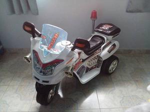Moto Electrica Para Niño Casi Nueva,